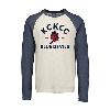 Cover Image for KCKCC Blue Devil Gray Long Sleeve Tee