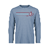 Cover Image for Charcoal Blue Devil Short Sleeve Tee