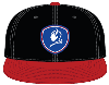BlueDevils Black/Red Baseball Style Hat PTS Image