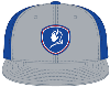 Cover Image for BlueDevils White/Blue Baseball Style Hat PTS