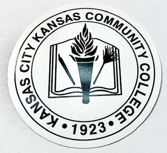 Image For KCKCC College Seal Decal Sticker