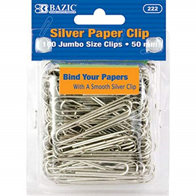 Image For 100 CT Jumbo Paper Clips 1