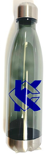 Image For Gray KC Water Bottle