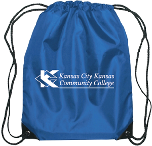 Image For KCKCC Drawstring Royal Bag