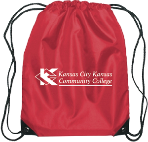 Image For KCKCC Drawstring Red Bag