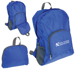 Image For KCKCC Collapsible Backpack