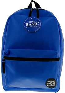 "Image For Bazic 17"" Blue Backpack"