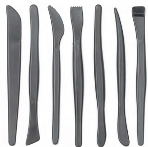 Image For Plastic 7pk Clay Tool Set