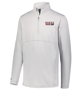 Image For White 3D Regulate 1/4 Zip Crew 2xL