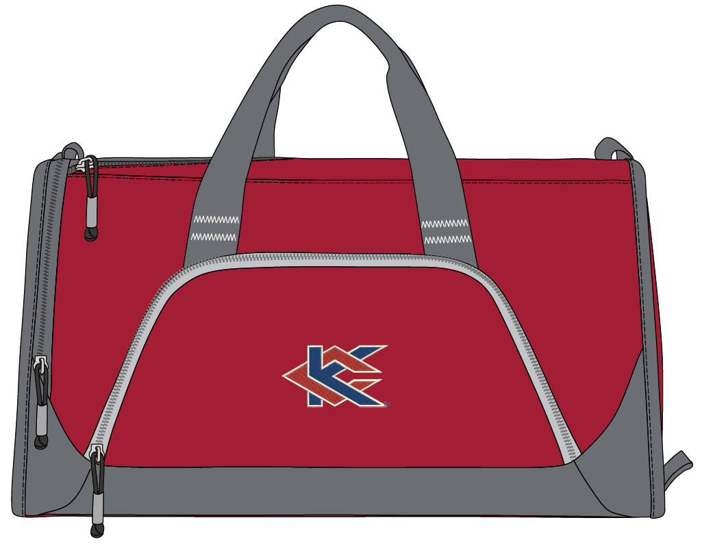 Image For Red KC Sports Bag