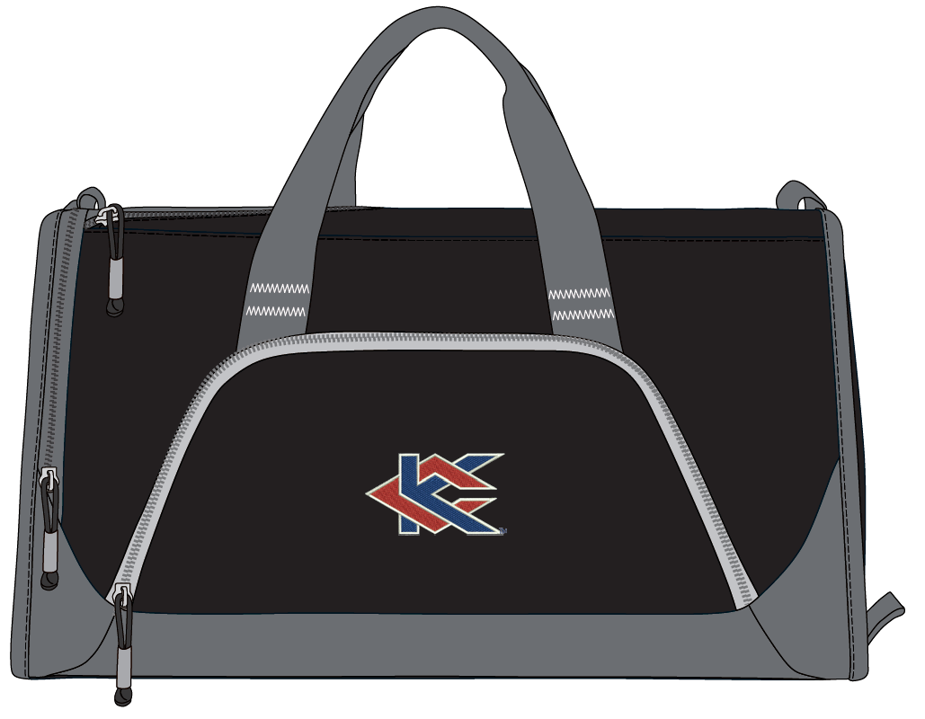 Image For Black KC Sports Bag