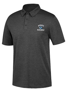Image For Black KCKCC Blue Devil Carbon Polo