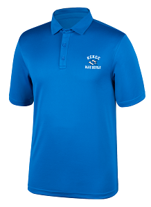 Image For Blue KCKCC Blue Devil Carbon Polo