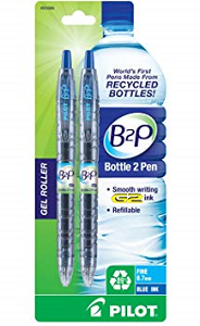Image For B2P Blue Fine Pen 2pk