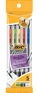 Image For BIC 0.7mm Pencil 5pk