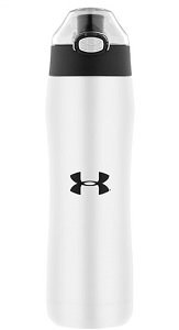Image For White Under Armour Stainless Steel 18oz/530mL Bottle