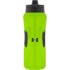 Image For Green Under Armour 32oz Squeeze bottle