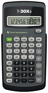 Image For TI-3Xa Scientific Calculator