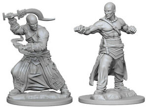 Image For Human Male Monk 2pk Unpainted