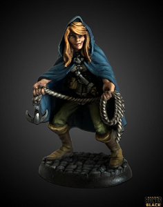 Image For Daschelle, Female Rogue Unpainted