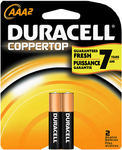 Cover Image For Duracell AAA 2pk
