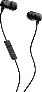 Image For Skullcandy Jib In-Ear Earbuds with Mic - Black/Black/Black