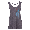 Cover Image for KCKCC Gray Womens Cross Tank Top