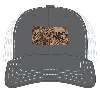 Cover Image for Kansas Gray/White Trucker Style Hat