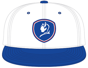 Image For BlueDevils White/Blue Baseball Style Hat PTS