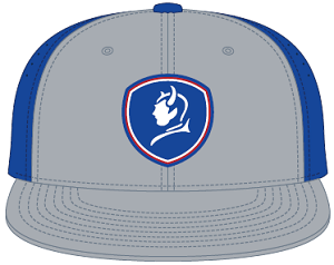 Image For BlueDevils Gray/Blue Baseball Style Hat PTSS30