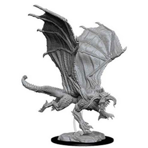 Image For Young Black Dragon Unpainted