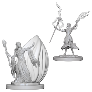 Image For Elf Female Wizard 2pk Unpainted