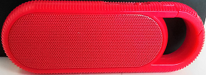Image For Chorus Clip-On Red Wireless Speaker