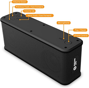 Image For Rugged Life Wireless Speaker and Portable Charger
