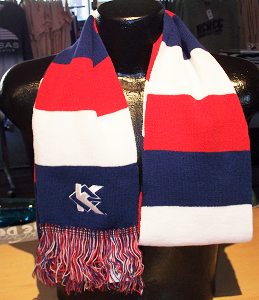Cover Image For KCK Red/White/Blue Scarf