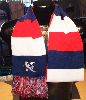 KCK Red/White/Blue Scarf Image