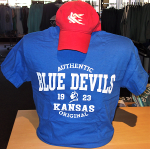 Image For Blue Devils Red Cap/Royal Tee Combo Set