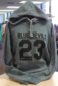 Image For Blue Devils 23 Blue Reverse Hoodie