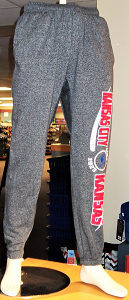 Image For Blue Devils Gray Sweat Pants