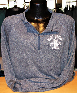 Image For Blue Devils 23 Navy Quarter Zip