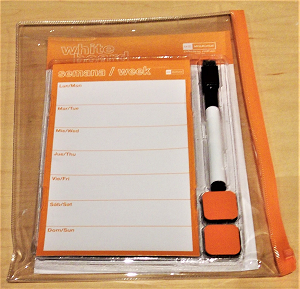 Image For Miquelrius Orange Whiteboard Set - Clearance