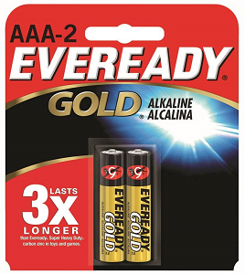 Image For Eveready AAA 2 Pack