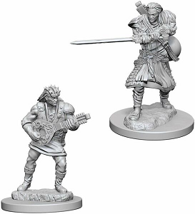 Image For Human Male Bard 2pk Unpainted