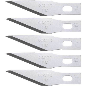 Cover Image For X-Acto #11 Replacement Blades 5pk