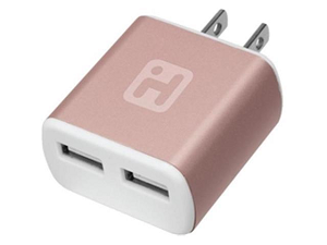 Cover Image For IHome RoseGold Wall Charger Plug