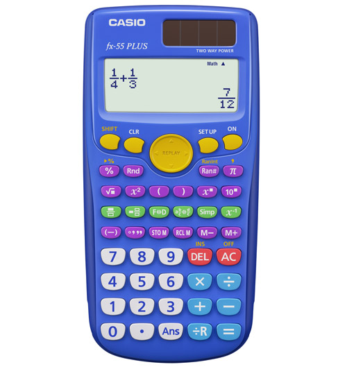 Cover Image For Casio FX-55 Plus Calculator