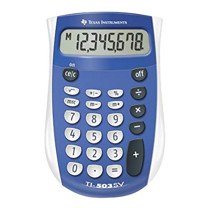 Image For TI-503SV Pocket Calculator