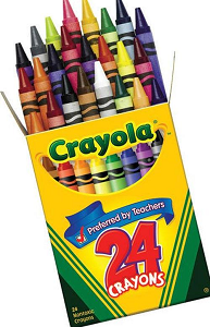 Cover Image For Crayola 24 Pack of Crayons