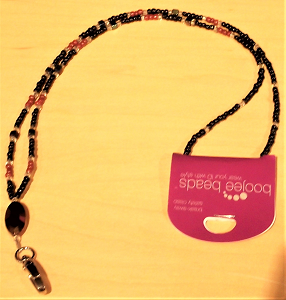 Image For Boojee Beaded Lanyard - Clearance